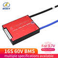 Li-Ion 16S 60V 15A 20A 30A 40A 60A 18650 PCM плата защиты батареи BMS PCM с балансным литиевым модулем батареи