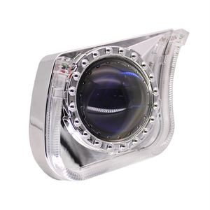 Image 5 - TAOCHIS YT140 3.0 inches bi xenon LED projector lens shroud DRL car headlights angel eyes white red blue yellow color