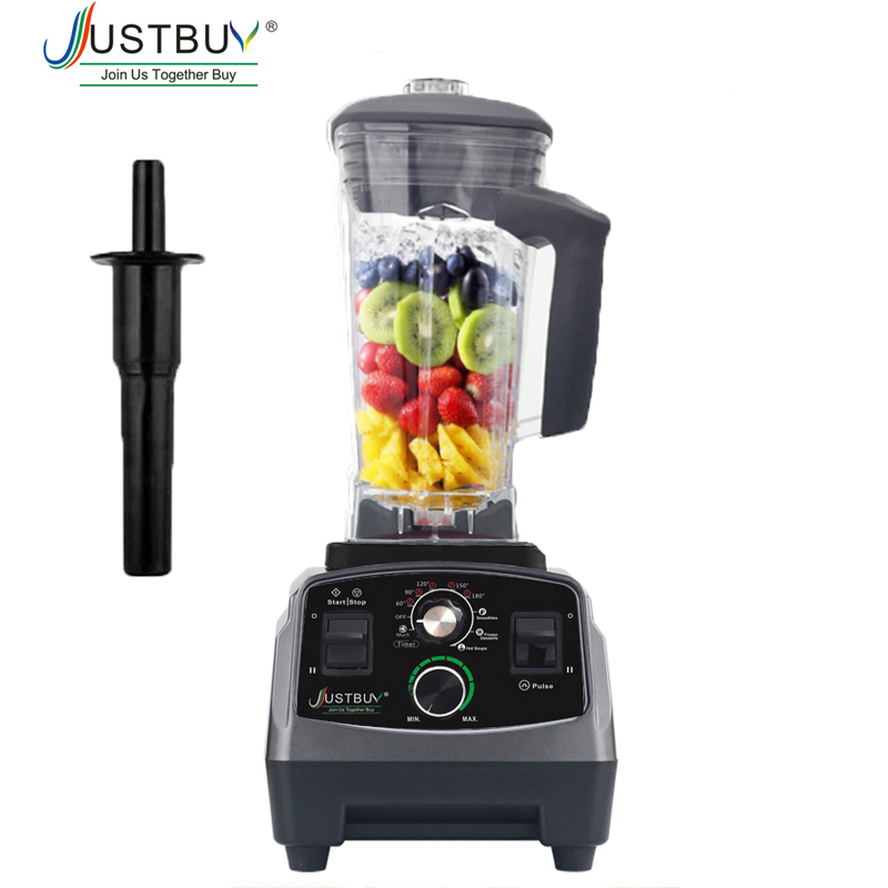 Timer BPA Free 3HP 2200W Commercial Blender Mixer Juicer Power Food Processor Smoothie Bar Fruit Electric Blender