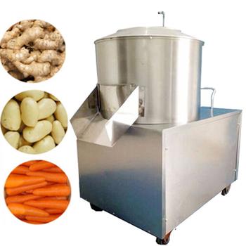 120 ~ 250 KG maszyna do cięcia chipsów ziemniaczanych maszyna do mycia ziemniaków i krojenia tanie i dobre opinie maiou 1500w 220v CN (pochodzenie) STAINLESS STEEL Potato Peeler 1500 watts 220 v 120~250 kg h 55 kg 85*67*46 cm 35 cm