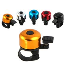1PC Bicycle bells Accessory For Safety Cycling bells Metal Ring Black Bike Bell Horn Sound Alarm Outdoor Protective Bell Ring bicycle bike handlebar ball air horn trumpet ring bell loudspeaker noise maker free shipping