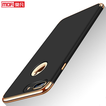 Case for iPhone 7 8 Plus Cover Luxury Ultra Thin New Mofi Hard Protective 3 in 1 Armor Black Back Case for iPhone 7 8Plus Case цена
