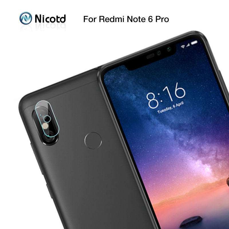 2 Pieces Camera Lens Tempered Glass For Redmi Note 6 Pro Screen Protector For Redmi Note 7 8 Pro On Redmi Note 5 Camera Glass
