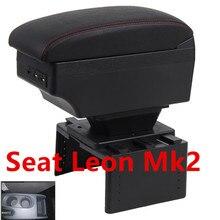 Для Seat Leon Mk2 подлокотник коробка центральный магазин содержимое коробка