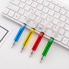 2020new шприц шариковая студенческие ручки Шариковая ручка школьные офисные принадлежности Обучающие канцелярские принадлежности случайные цвета