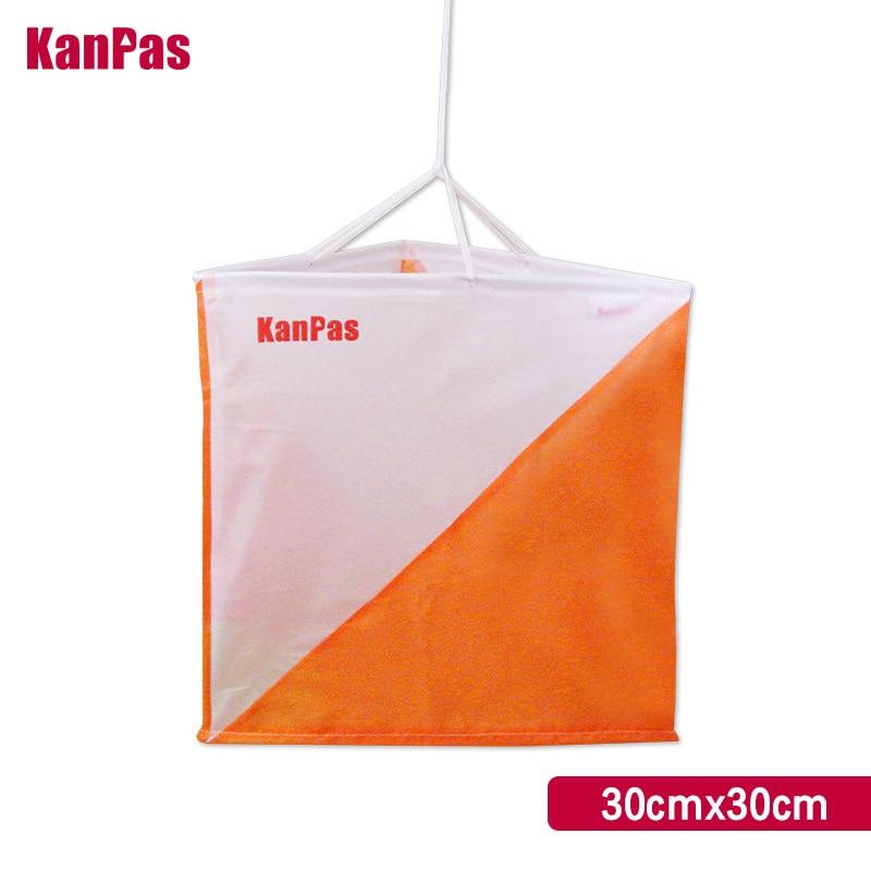 KANPAS 30*30cm Orienteering Marker Flag/10pcs/lot /control Flag/control Marker/free Shipping/ Free Bandana Gift