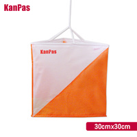 KANPAS 30*30cm orienteering marker flag/10pcs/lot /control flag/control marker/free shipping
