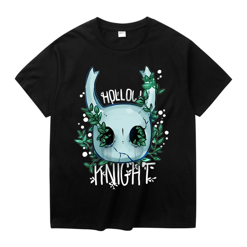 Novelty Hollow Knight Tee Shirt For Man Fashion Game Short Sleeve Plus Size T Shirt Christmas Gift Tshirt Cotton Fabric