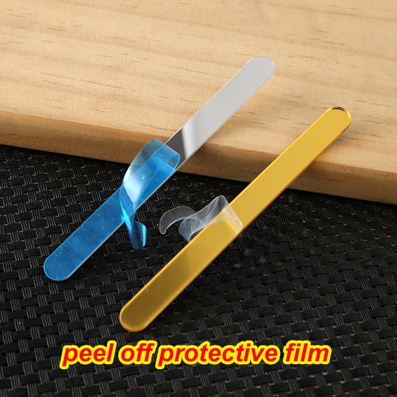 10//100pcs Useful acrylic Ice Cream Sticks Popsicle Stick Kids Crafts DIY