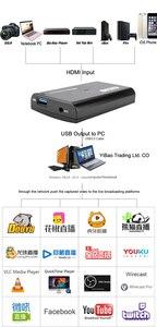 Image 4 - 4 18k 1080 1080p hdmiループアウト電話ゲームキャプチャカードusb 3.0マイクビデオ録画ボックスPS4 hdカメラスイッチpcライブストリーミングプレート