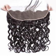Frontal-Closure Lace Brazilian with Baby-Hair 13X4 Natural-Hairline Water-Wave RUIMEISI