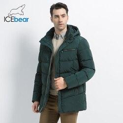 2019 nuevo abrigo de invierno para hombre, chaqueta de alta calidad para hombre, ropa de moda para hombre, Parka cálida para hombre MWD19835D