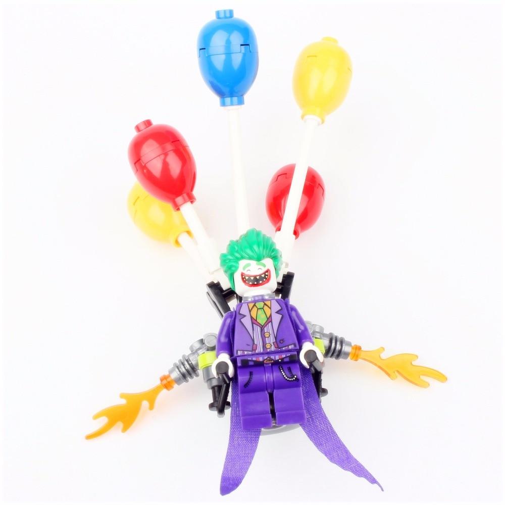 Bela 10626 Batman Movie The Joker Balloon Escape Man-Bat Building Block 136pcs Bricks Toys Gift Compatible With Bela 70900