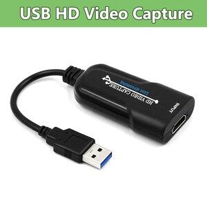 Nouveauté USB carte de Capture vidéo HDMI dispositif de Capture vidéo enregistreur vidéo pour PS4 DVD caméra en direct