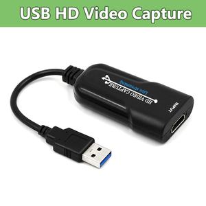 USB карта захвата видео, устройство захвата видео HDMI для PS4, DVD-камеры, потоковое видео
