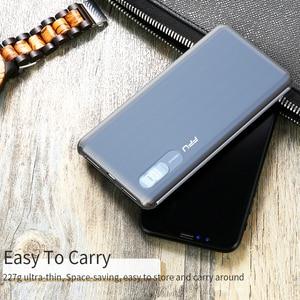 Image 5 - FPU batterie dalimentation 10000 mAh chargeur Portable PowerBank 10000 mAh mince USB batterie de téléphone externe de charge pour Xiaomi mi 9