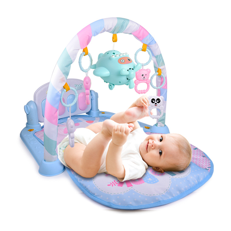 Infants Toy Music Story Rattle Early Childhood Baby Pedal Piano Fitness Rack Early Education Toy