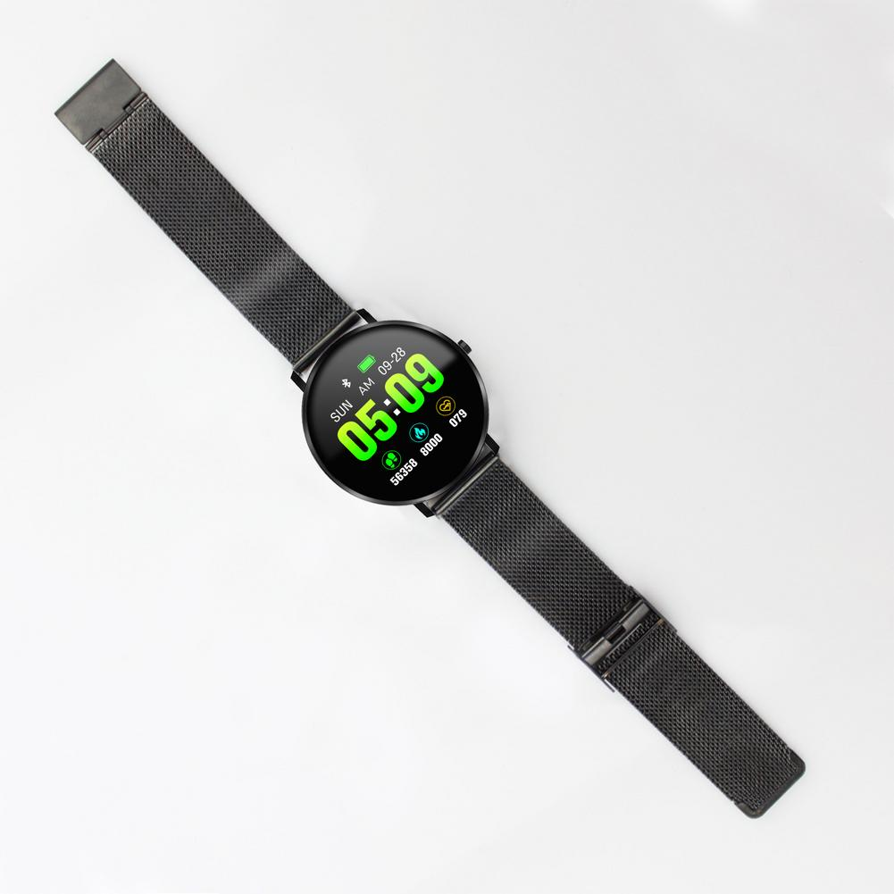 Smart bracelet full touch circular screen smart bracelet IP67 waterproof heart rate blood pressure management health reminder