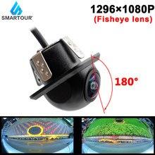 Rear View Camera Fisheye Lens 180° High Resolution Definition Starlight Night Vision Backup Hd Car Reverse Camera For Multimedia
