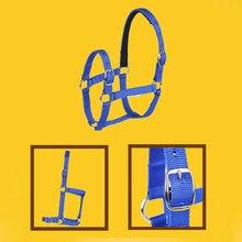 Equestrian-Equipment Training-Rope Collar Horse-Head Riding HALTER-BELTS Adjustable Safety