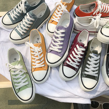 Women Canvas Shoes men Fashion Summer Casual Sneakers Low To