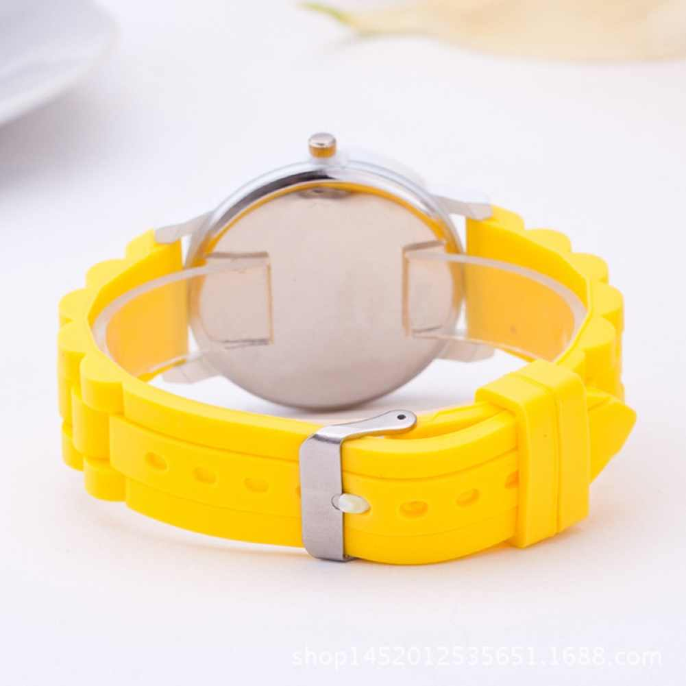 Silicone bracelet de montre enfants montre mignon dessin animé crayon enfants montres femmes Sport Quartz horloge dames montre-bracelet fille garçon cadeau