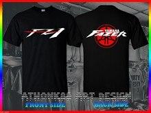 T-Shirt de marque à manches courtes pour hommes, vêtements de Fitness amusants et décontractés pour Fans de moto Fazer Fz1, 2020
