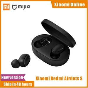 Image 1 - 2020 In Stock New Xiaomi Redmi AirDots S Left Right Low Lag Mode Mi Redmi AirDots 2 TWS Bluetooth Earphone Pro BT5.0 TWSEJ05LS
