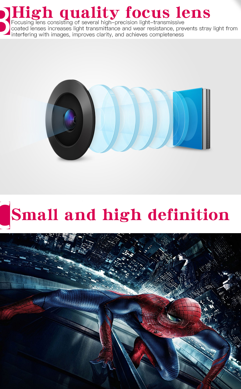 Salange YG300 Pico Mini Projector With 500 Lumen 3.5mm Audio 320x240 Pixels HDMI USB Support 3