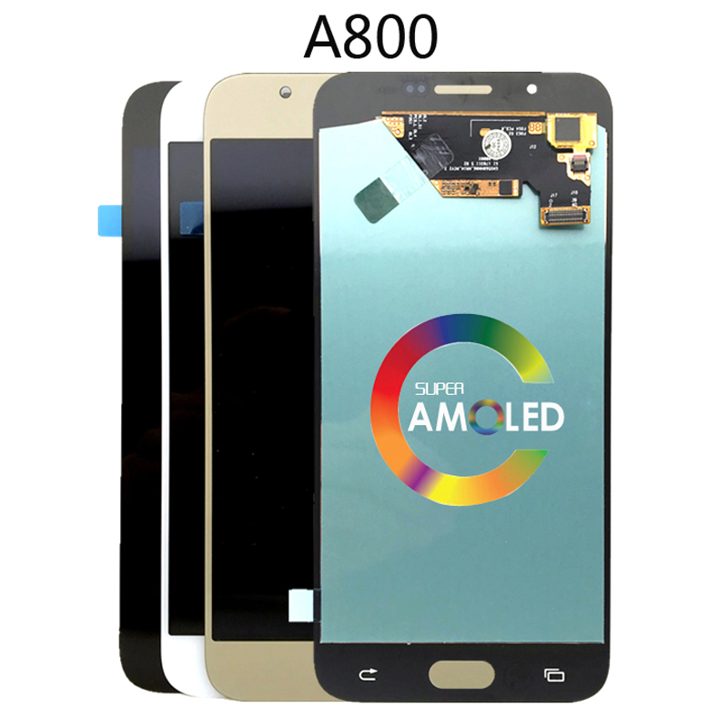 OLED LCD For <font><b>Samsung</b></font> Galaxy A8 2015 A800 <font><b>A8000</b></font> A800F LCD Touch Screen Digitizer Assembly image