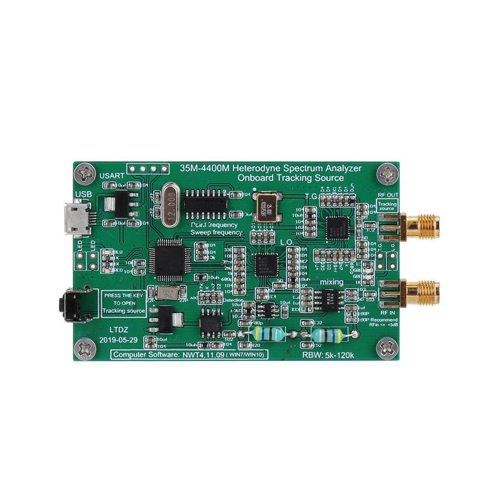 Analizador de espectro USB LTDZ 35-4400M Fuente de señal de espectro con módulo de seguimiento de la fuente Herramienta de Análisis de dominio de frecuencia RF 120W 240W Samsung LM301H/301B Quantum LED Grow Light Board Full Spectrum 3000K 5000K 660nm 760nm Hydroponic Kits