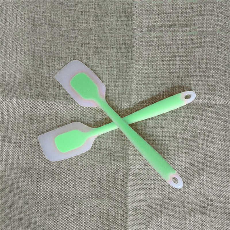 أدوات تمرغ من السيليكون يمكنك صنعها بنفسك أدوات تمرغ بملعقة من السيليكون مزدوجة c أداة تقطيع المعجنات أدوات المطبخ B akeware