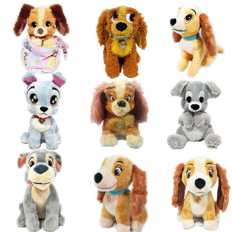 1pieces/lot Plush Dog Tramp Lady Doll Gift Children's Toys