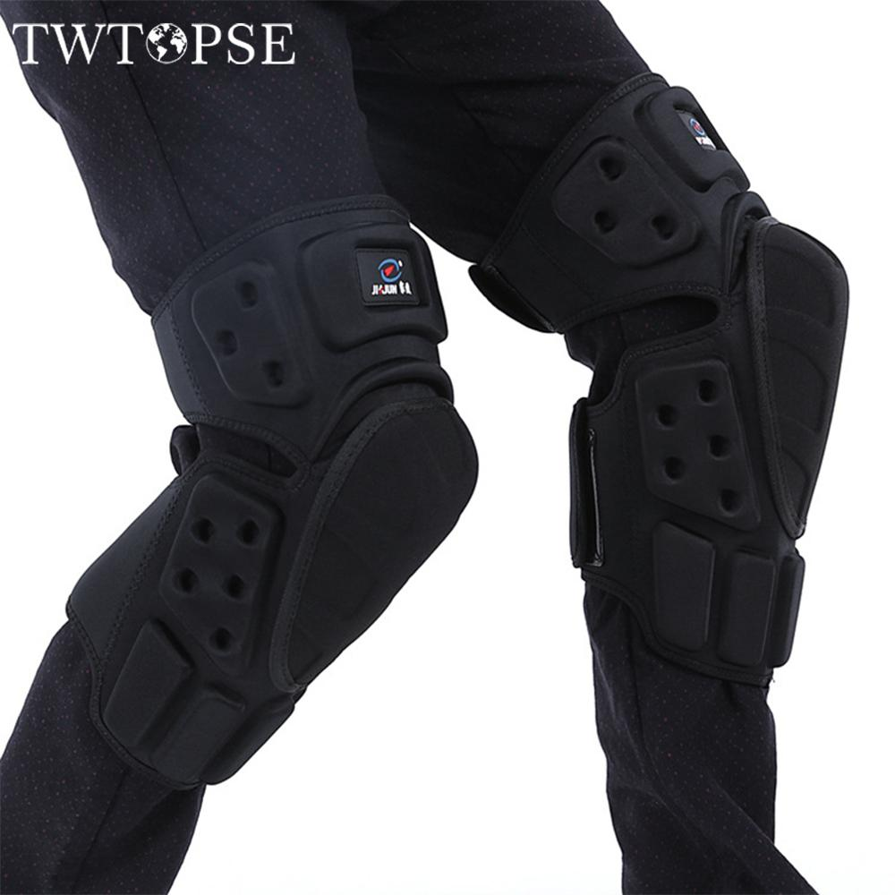 TWTOPSE Knee Protector Cycling Pad For MTB DH DS XC Enduro Bicycle Protector DownHill Dual Slalom Bike Motorcycle Outdoor Sport