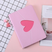 Magnetic Flip Cover For iPad Pro 9.7 10.5 11 Air Air2 Mini 1 2 3 4 5 Pink Heart Style Tablet cover Case for New iPad 9.7 2017
