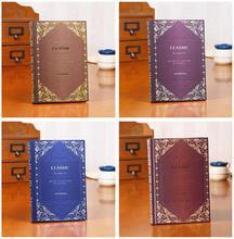 A5 Large Vintage Diary Notebook Classic Royal Big Planner Notepad Memory Books Birthday Gift Elegant