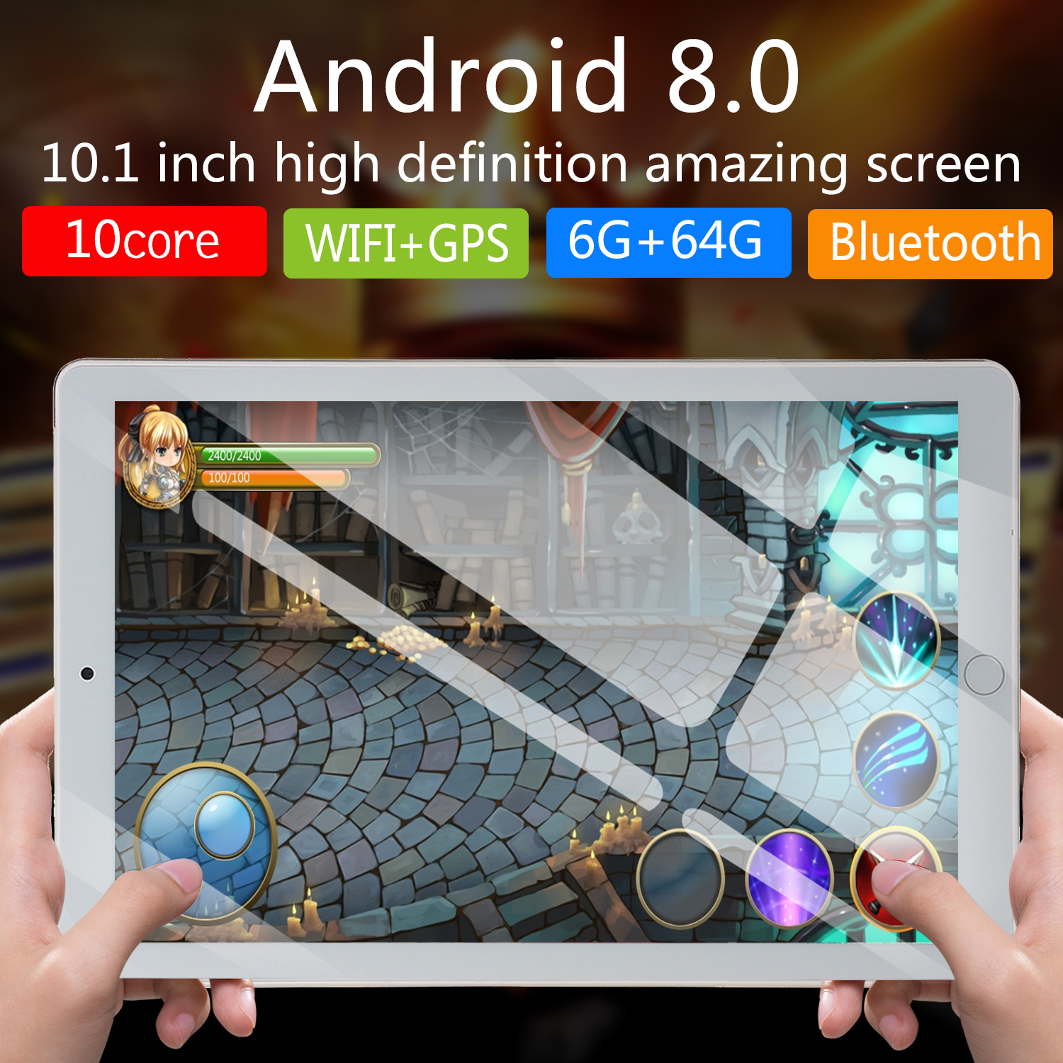 NEW 10 Inch Tablet Pc Octa Core 2019 Original Powerful Android 6GB RAM 64GB  Dual SIM Phone Call Tab Phone Pc Tablets