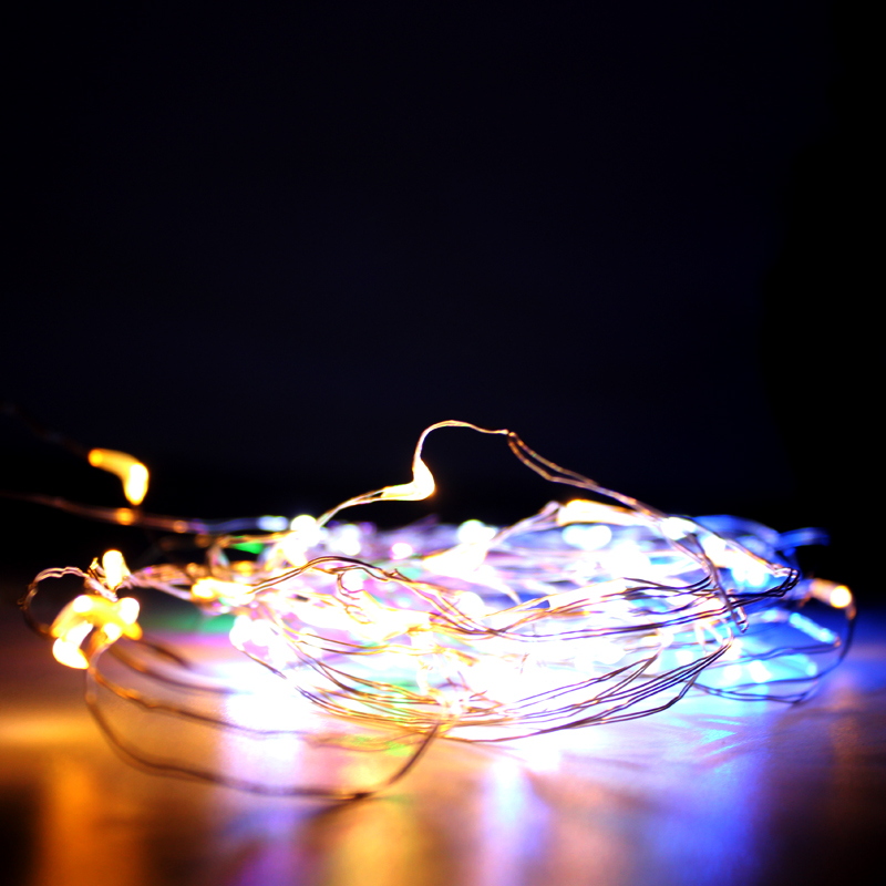 LED Cork String Light 1m 2m 3m Copper wire Strip Holiday fairy tale line Bottle Wedding gift party decoration lights
