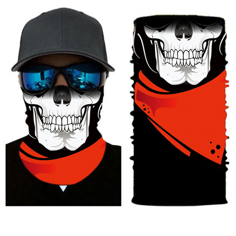 High-Jump CS Airsoft Bandana Headwear Polyester Windproof Dustproof Face Mask Fishing Hunting Cycling Scarf Shooting Accessories