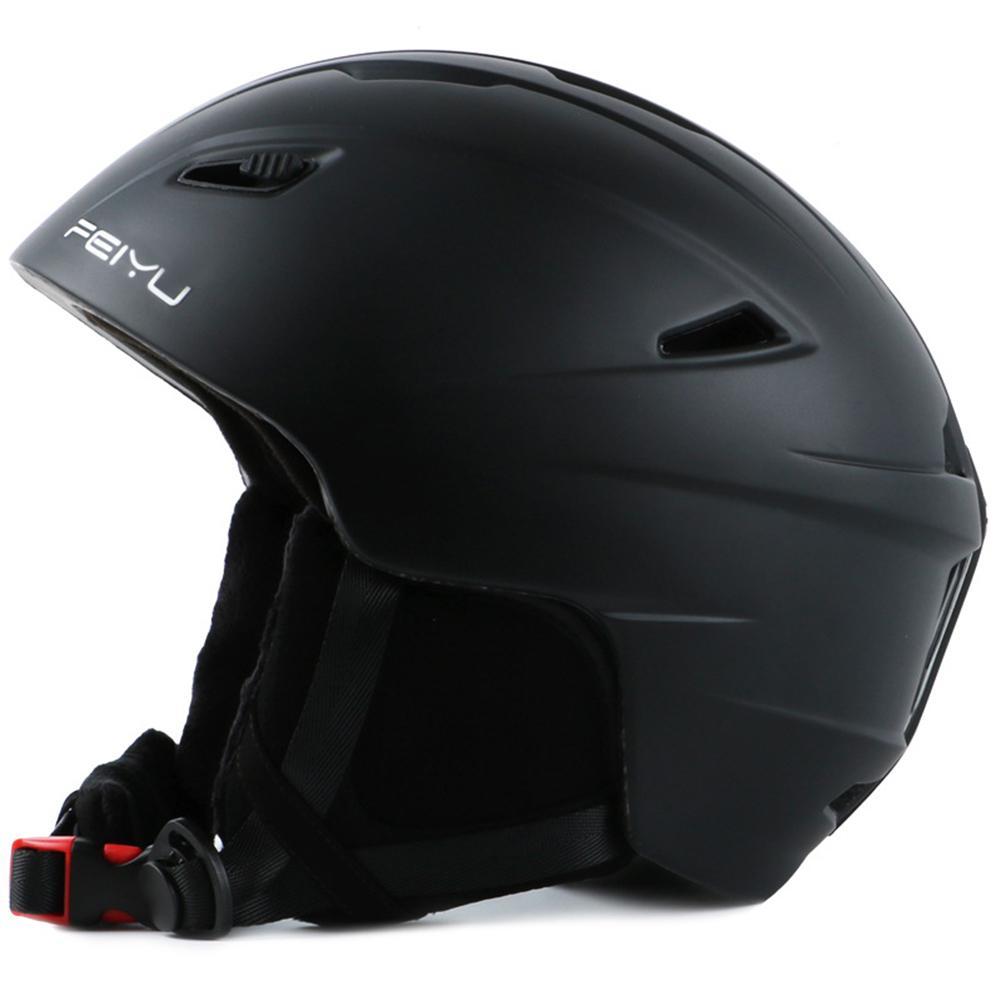 HobbyLane Outdoor Skiing Single And Double Board Professional Unisex Safety Ski Helmet Snow Helmet Integrated Shape Helmet Hot