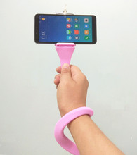 Bluetooth selfie stick with tripod Plastic Alloy self selfiestick phone smartphone selfie-stick for iphone samsung huawei