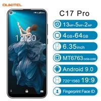 """19 OUKITEL C17 Pro 6.35"""" 19:9 Android 9.0 Mobile Phone MT6763 Octa Core 4G RAM 64G ROM Fingerprint 3900mAh Triple Camera Sma (2)"""