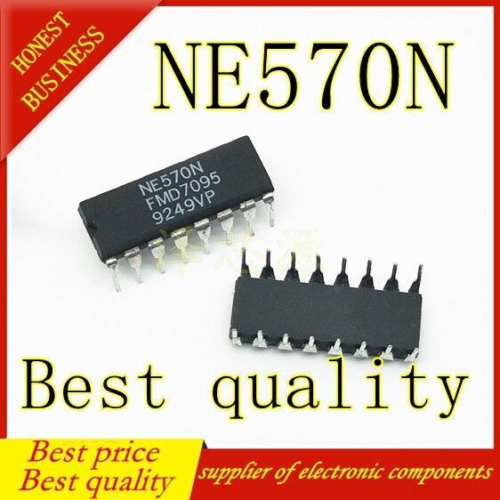 5PCS NE570N NE570 DIP-16 Best Quality