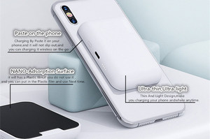 Image 4 - اللاسلكية تجدد Powerbank البطارية تهمة حقيبة لهاتف أي فون X/XS/8/8 زائد Sumsung s9/s9 + هواوي زميله RS P20 Xiaomi MI9 الشحن اللاسلكي
