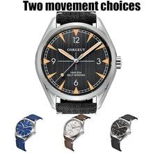 Men Wristwatch Miyota 8215 Corgeut 41mm Automatic Clock Mechanical Full-Steel Luxury