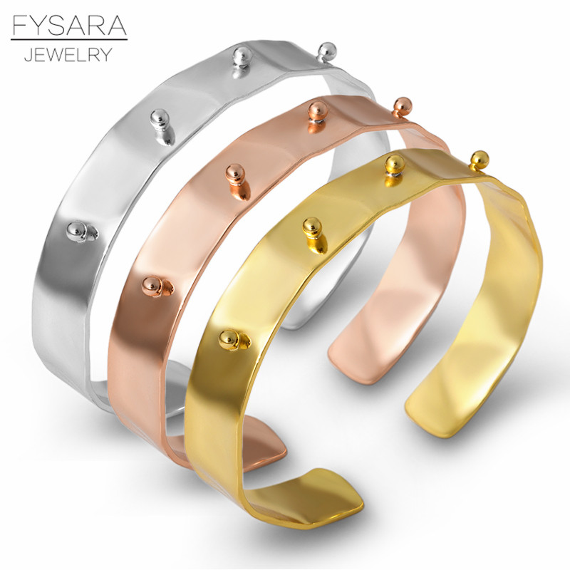 Trendy Cubic  Zirconia Rotating Wave Bangle Bracelet For Women Party Jewelry