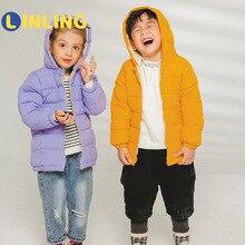 Down-Jacket Clothing Hoodie Coat Spring Girls Boys Kids Children Light Infant LINLING