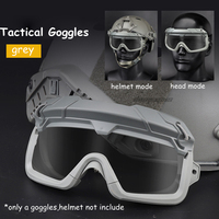 Tactical airsoft paintball goggles