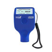 تغليف الطلاء أداة قياس السمك 0 2000μm 0.1μm Fe NFe التحقيق مقياس LS220 للسيارات السيارات