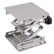 200x200mm Aluminum Router Table Woodworking Engraving Lab Lifting Stand Rack Platform Woodworking Benches
